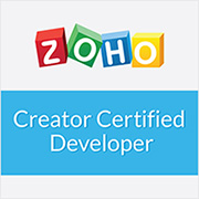 Zoho Certified Creator Developer